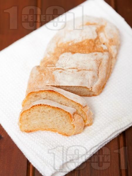 Пшенични питки със суха мая - снимка на рецептата